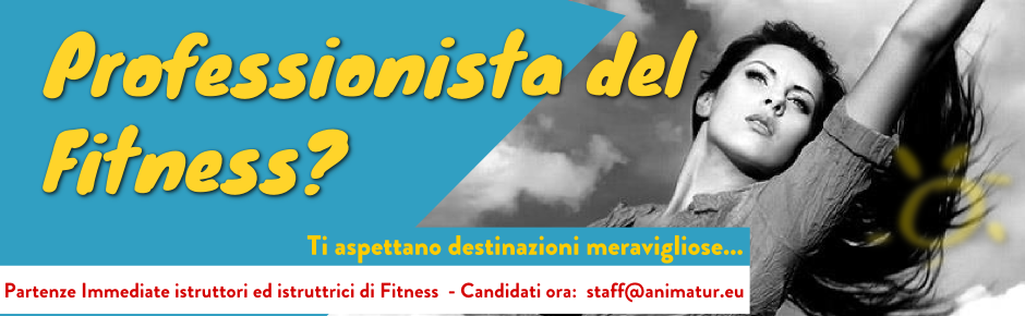 Partenze Immediate Istruttori Fitness