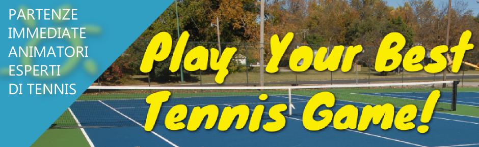 Animatore con la passione per il tennis?