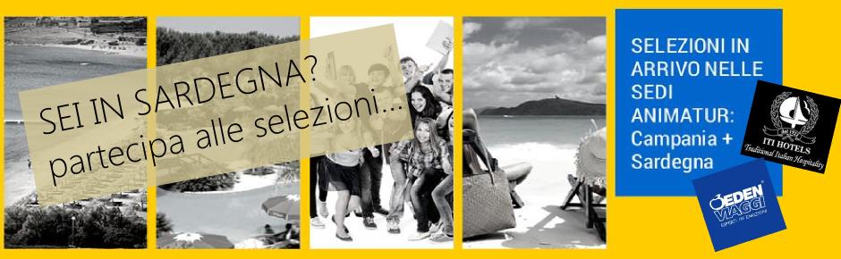 Selezioni in Sardegna per Animatori Turistici con esperienza
