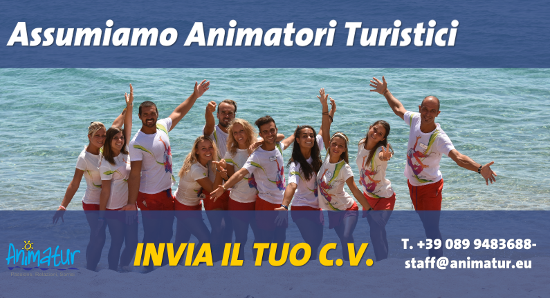Animatore turistico estate 2016