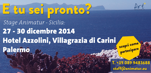 Stage Animatur in Sicilia, manca poco…