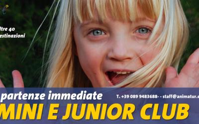 Partenze immediate estate 2016: cerchiamo esperti Mini e Junior Club