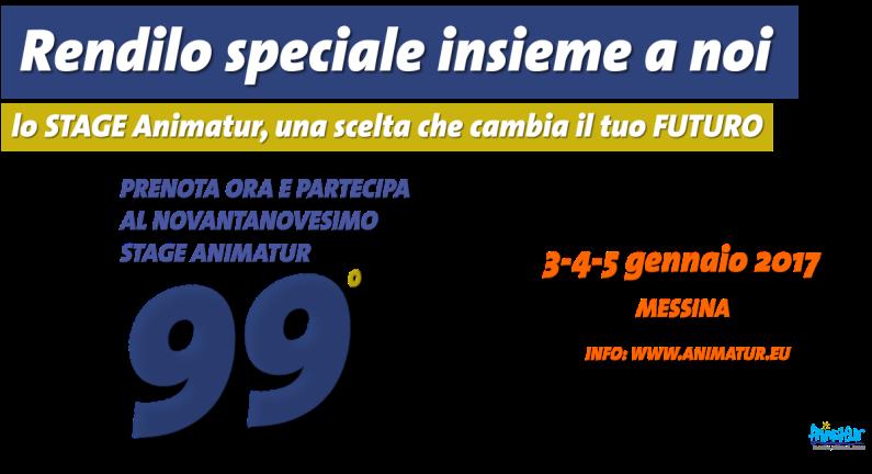 Stage Animatur in Sicilia dal 3 al 5 gennaio 2017