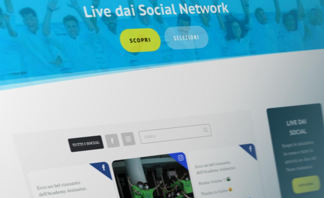 Partecipa sui nostri social e conosci il Team Animatur